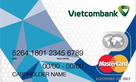 Vietcombank Mastercard International Debit Card