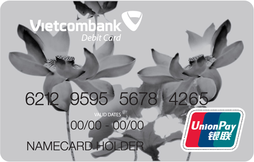 Vietcombank Unionpay International Debit Card