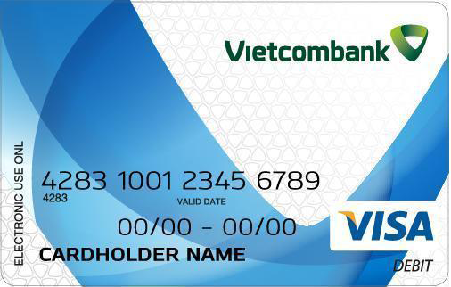Vietcombank Connect24 Visa International Debit Card