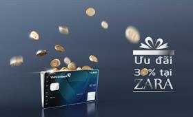 The promotion for Vietcombank Cashplus Platinum American Express® cardholders at Zara